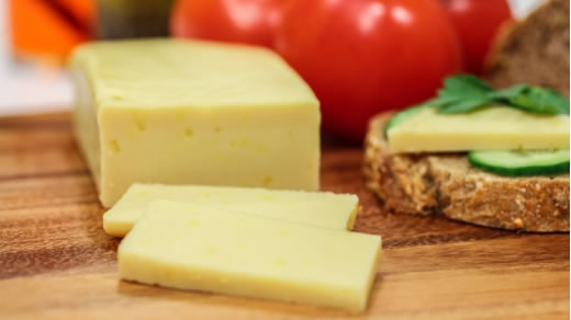 Vegusto cheese is available at Valley Organics