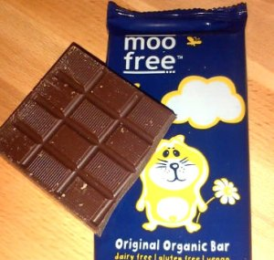 choc moo free bar