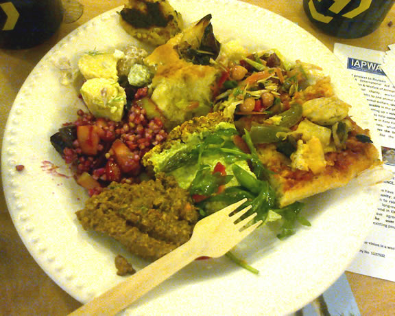 3rd October:  Pot-luck Supper, Todmorden