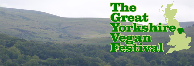 13 June: Great Yorkshire Vegan Festival, Leeds Town Hall