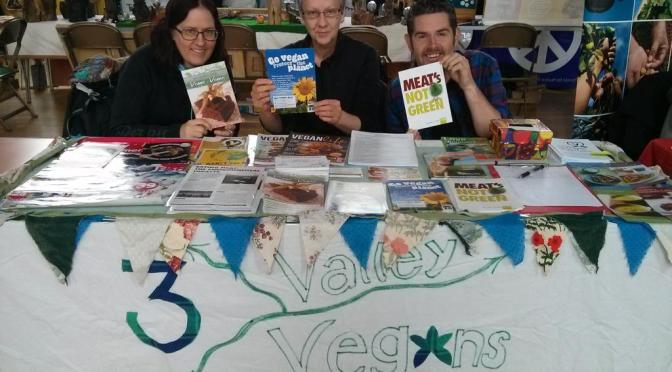 3 Valley Vegans at Alternatiba Todmorden 2015