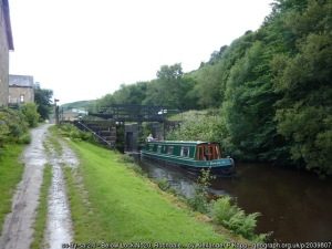 Photo of Rochdale Canal by Alexander P Kapp