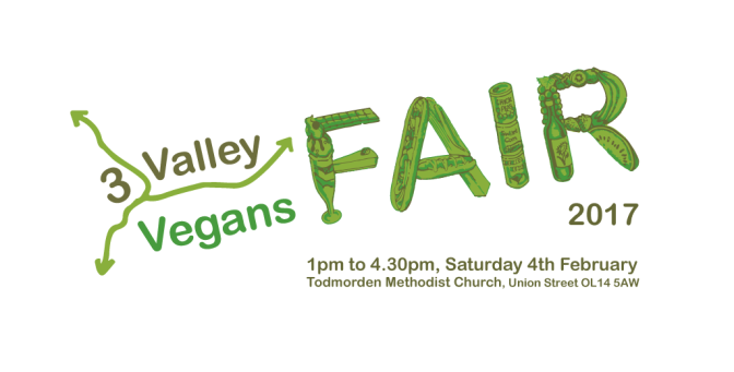 3 Valley Vegans Fair 2017 logo