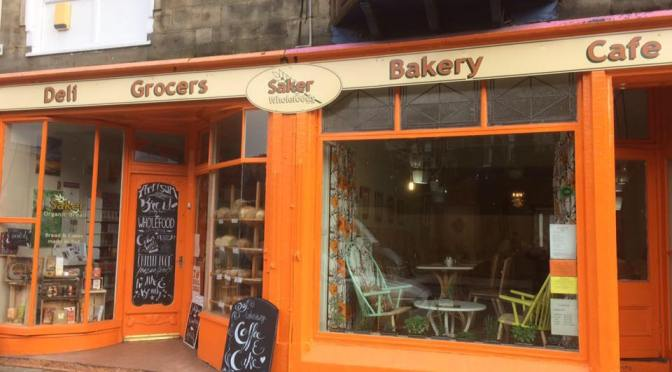 24 Feb: Afternoon tea and cake at Saker Cafe, #Todmorden