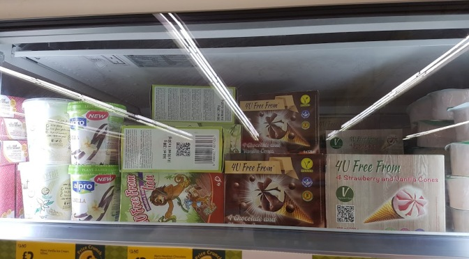 Morrisons Todmorden ice creams