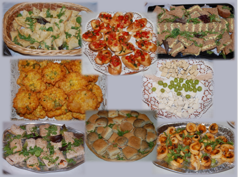 Choral savoury dishes