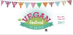 Vegan Festival of Britain 2017 logo