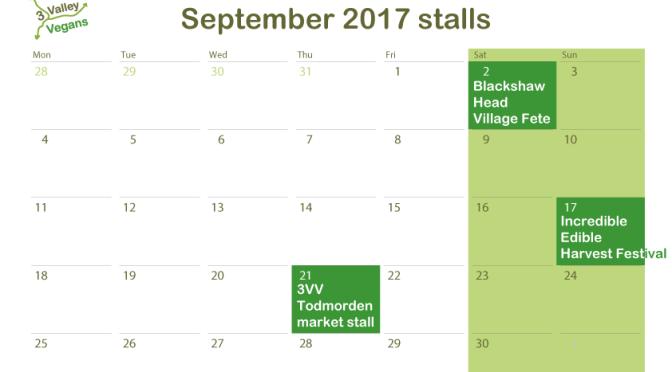 September 2017 stalls