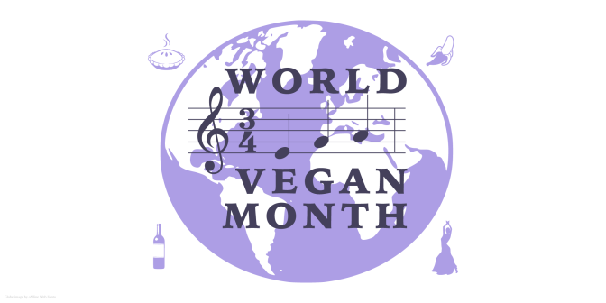 World Vegan Month logo