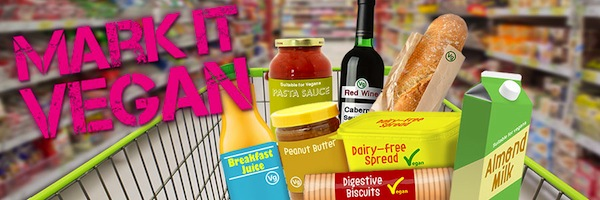 Petition: ask supermarkets to mark it vegan