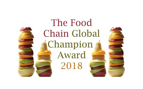 Food Chain Global Champion Award 2018: nominate now