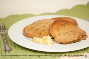 Pancakes (image by veganbaking.net)