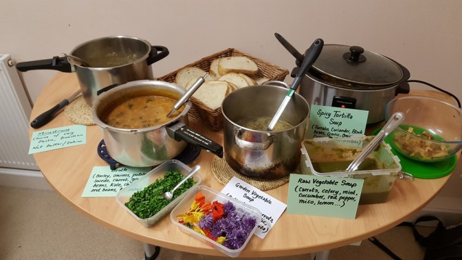 Soup pot luck – a wide selection of flavours at low cost