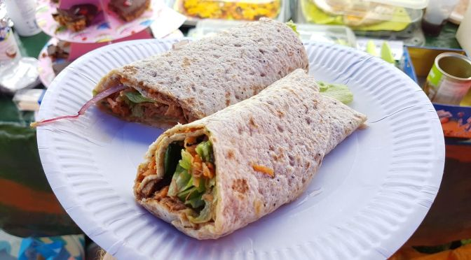 Jackfruit Wraps