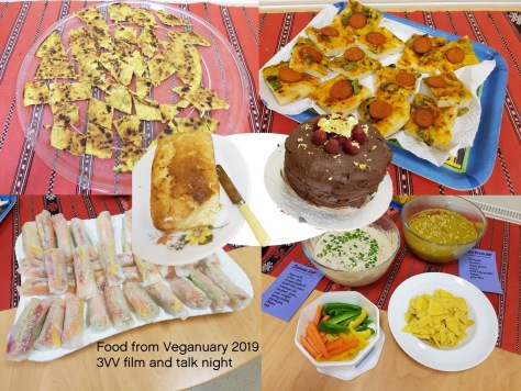Veganuary 2019 food