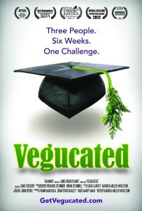 Vegucated promotional poster