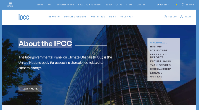 Encouraging activities for all in the IPCC report on food, land and climate