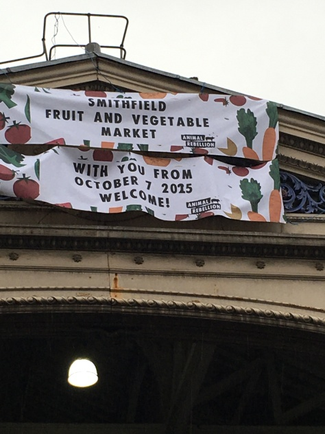 Animal Rebellion Smithfield banner