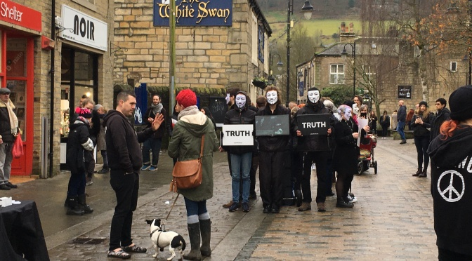 25 Jan: Cube of Truth comes to #HebdenBridge