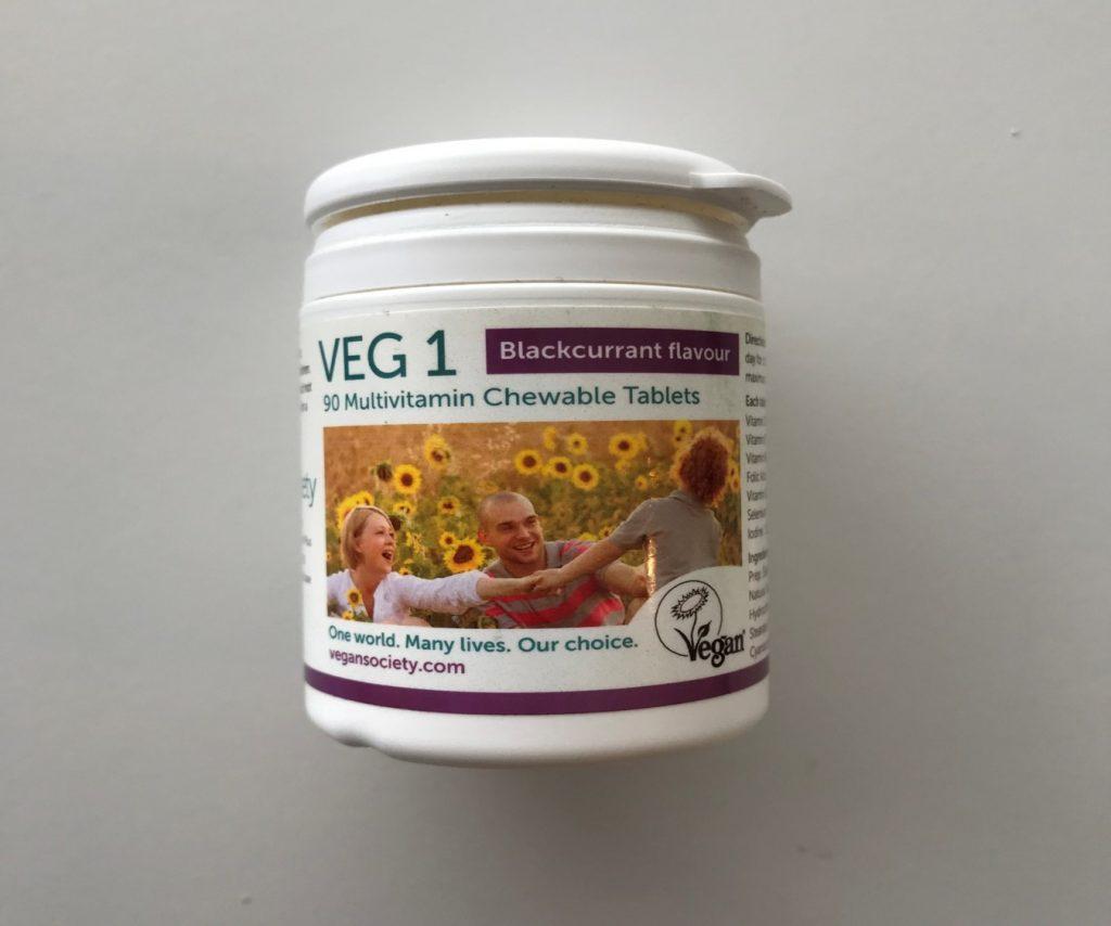 veg-1 multivitamin capsules